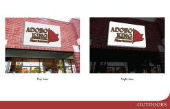 Adobo Kind Sign