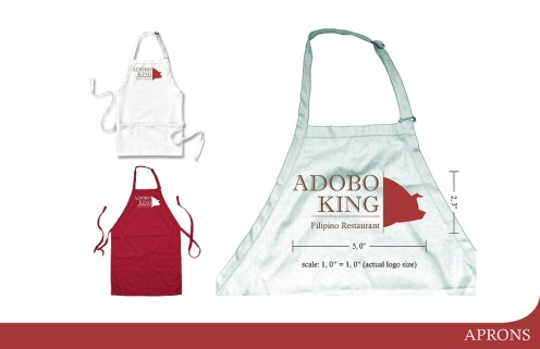 Adobo King Apron