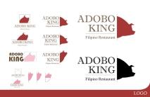 Adobo King Concept Logo