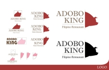 Adobo King Concept Logo