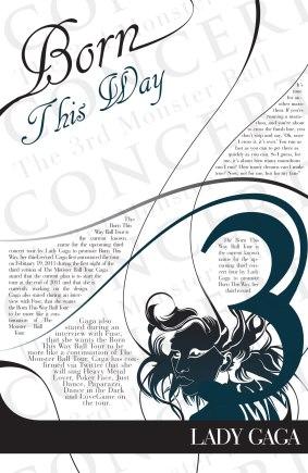 Concert poster illustration