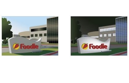 Foodie Headquarters Sign