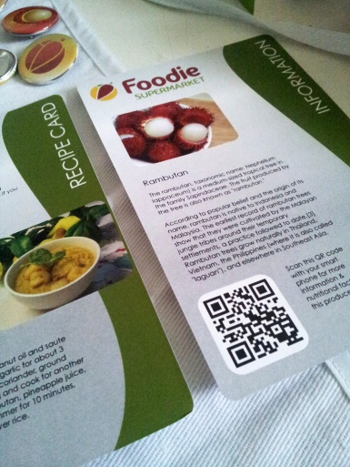 Foodie Information and Recipie Cards 2