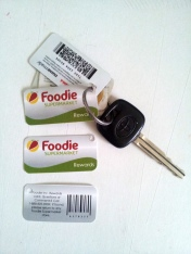 Foodie Member Key Ring