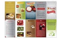 Foodie Pamphlet