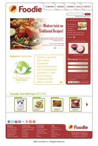 Foodie Website