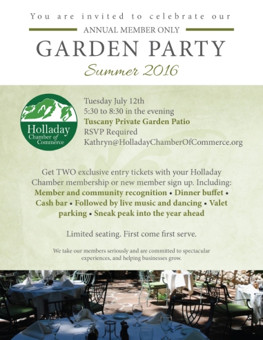 Holladay Chamber event