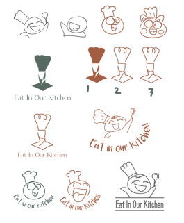 eat-in-our-kitchen-logo-design